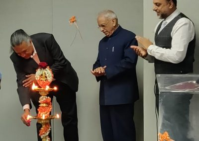 Parthasarathy NS inaugurating the Sparsh Vachana, 2018
