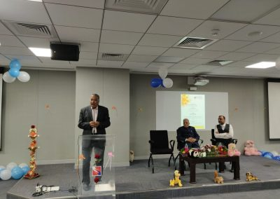 Parthasarathy NS speaking on the occasion of Sparsh Vachana
